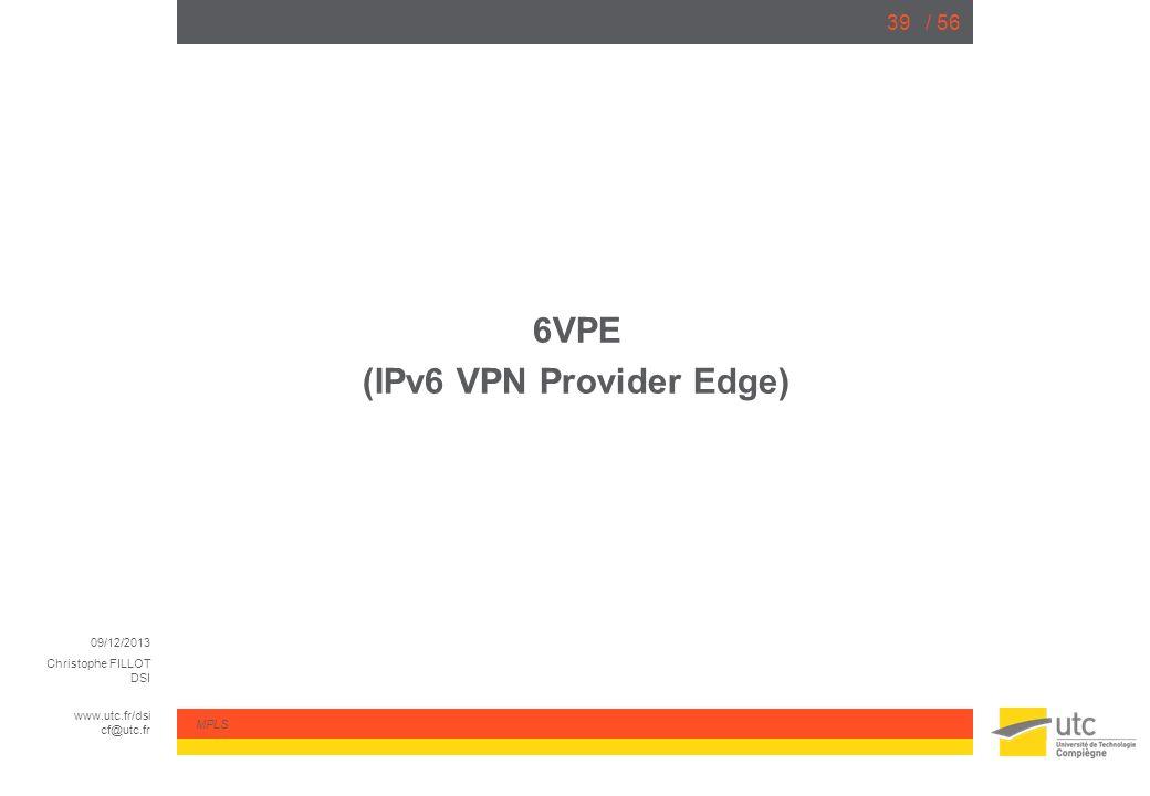 (IPv6 VPN Provider Edge)