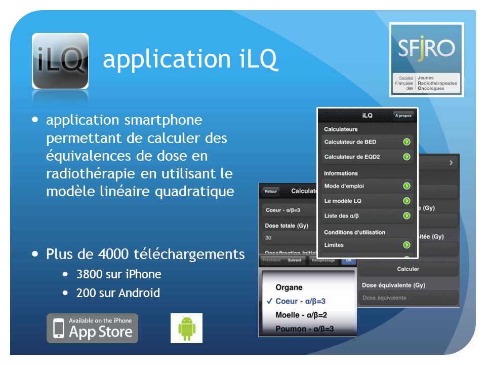 application iLQ