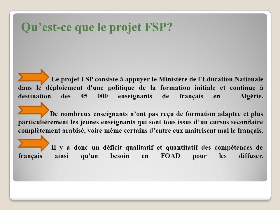 Qu'est-ce que le projet FSP