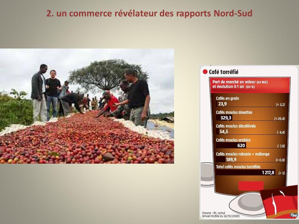 2. un commerce révélateur des rapports Nord-Sud