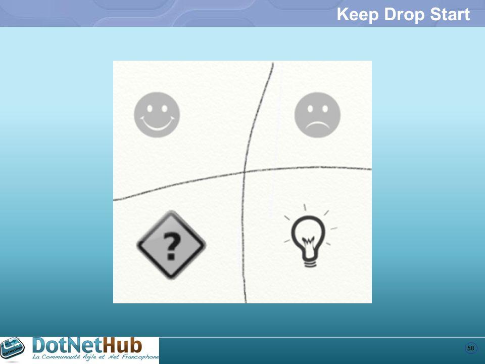 Keep Drop Start