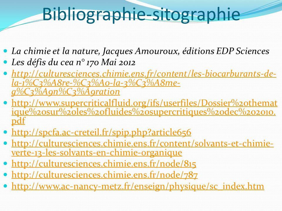 Bibliographie-sitographie