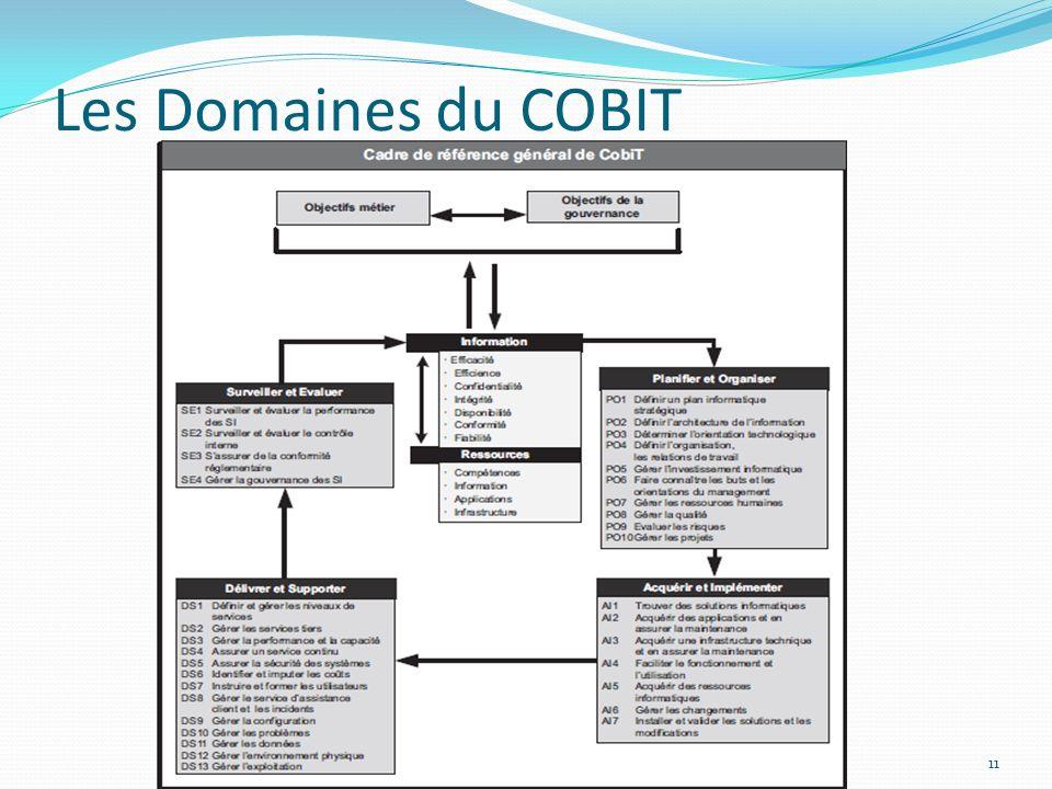 Les Domaines du COBIT
