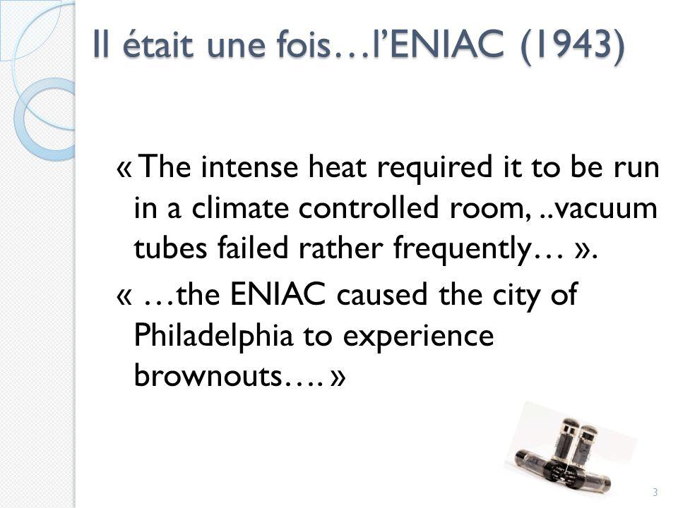 Il était une fois…l'ENIAC (1943)