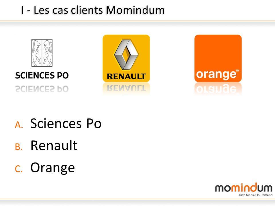 I - Les cas clients Momindum