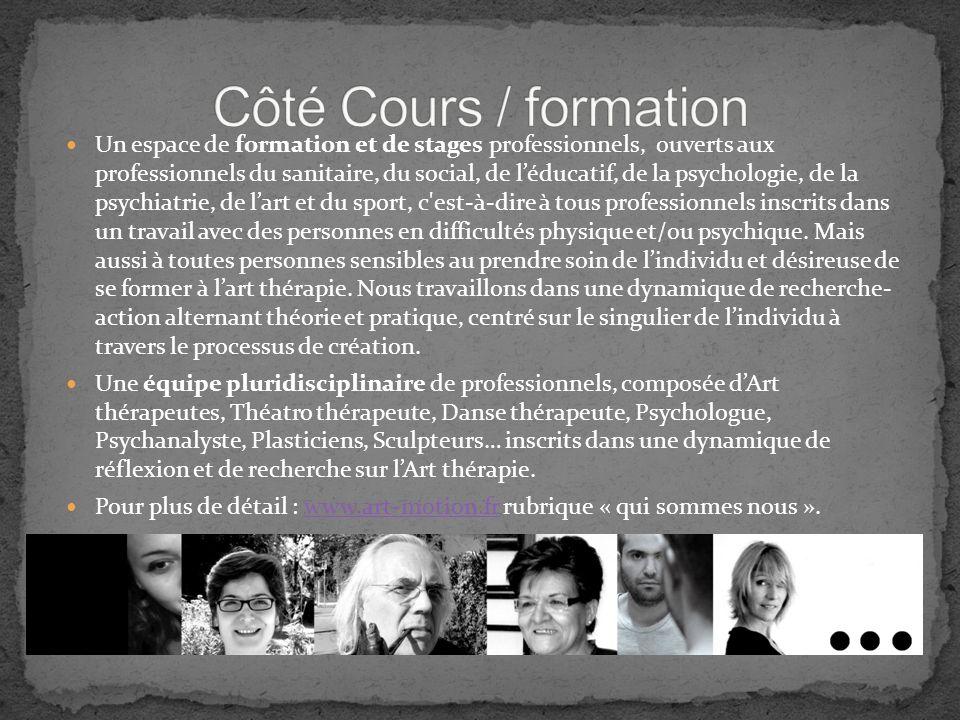 Côté Cours / formation