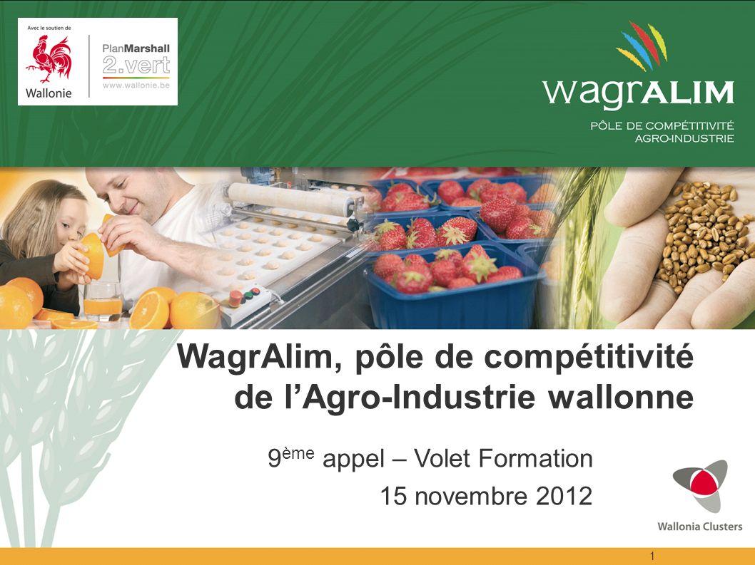 WagrAlim, pôle de compétitivité de l'Agro-Industrie wallonne