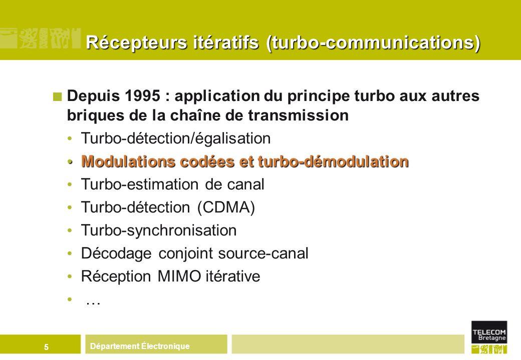 Récepteurs itératifs (turbo-communications)