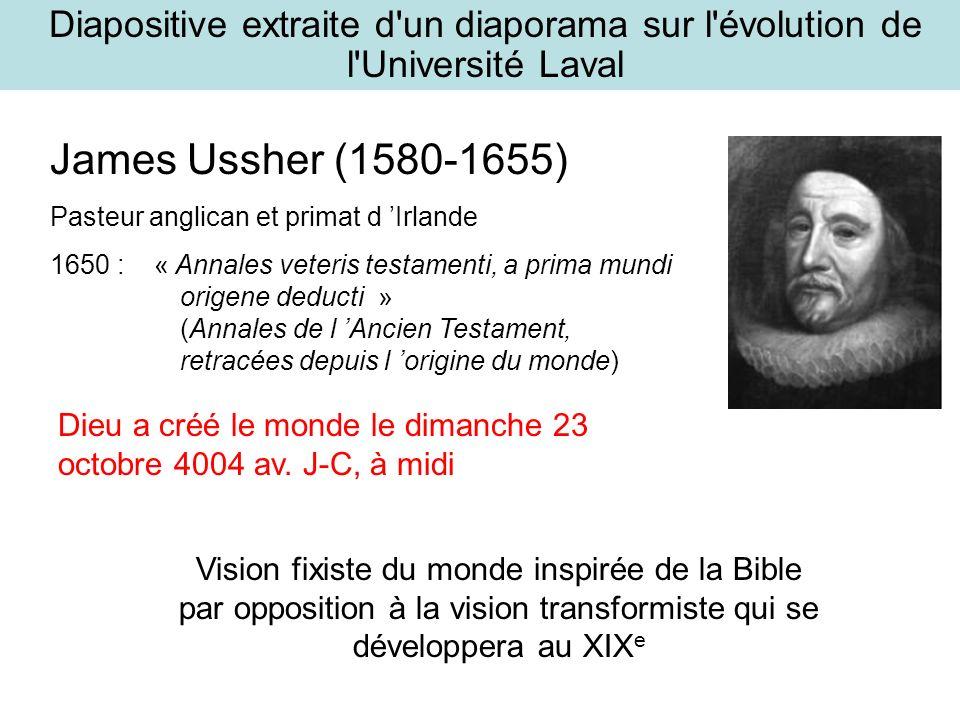 Diapositive extraite d un diaporama sur l évolution de l Université Laval