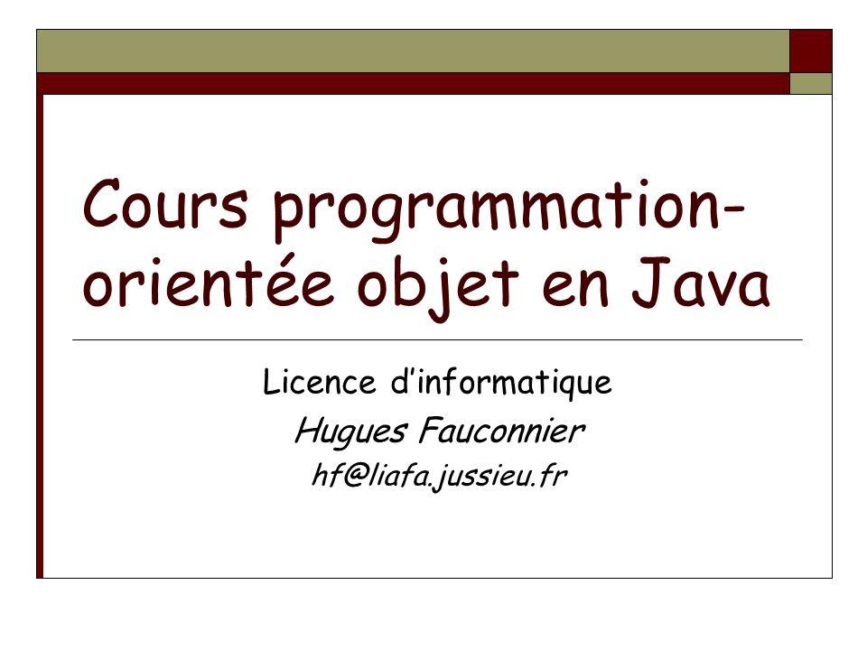 Cours programmation-orientée objet en Java
