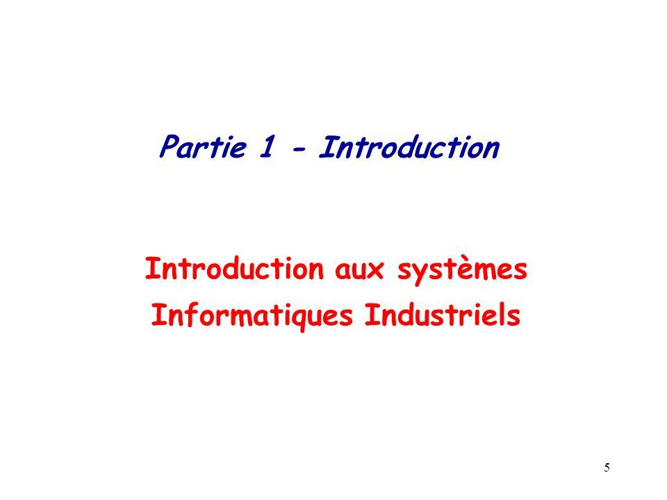 Introduction aux systèmes Informatiques Industriels