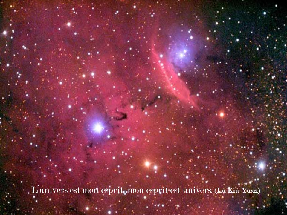 L'univers est mon esprit, mon esprit est univers. (Lu Kiu-Yuan)