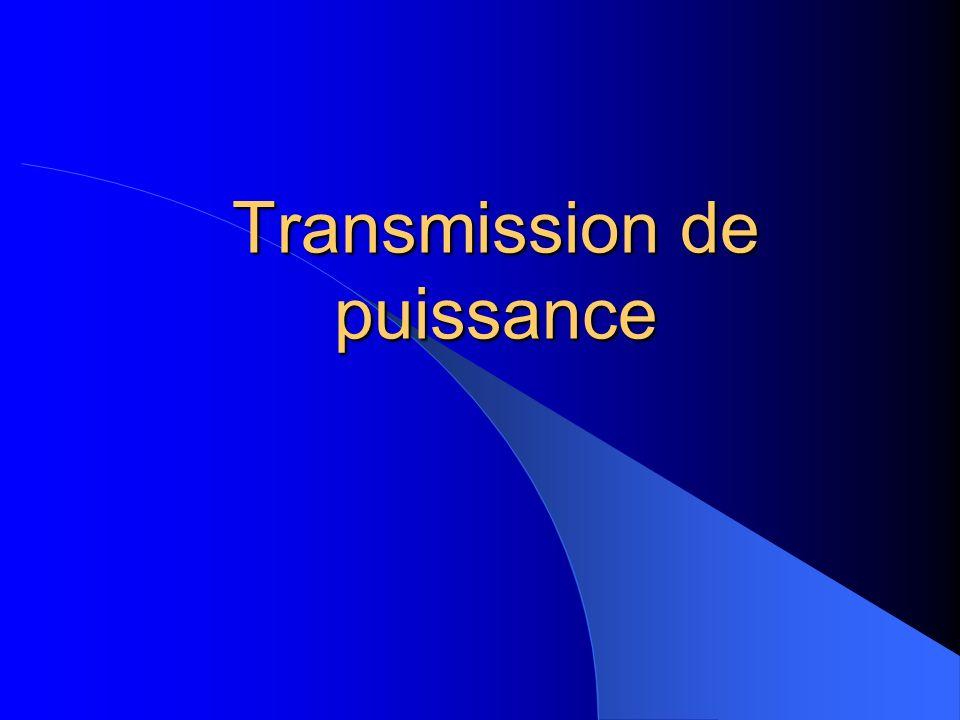 Transmission de puissance