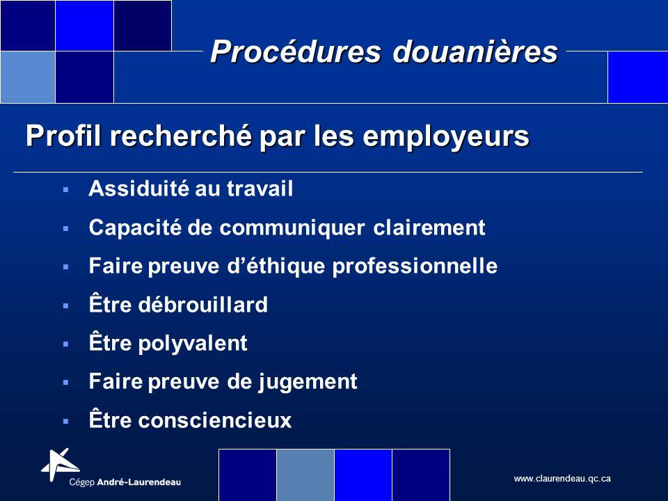 Profil recherché par les employeurs