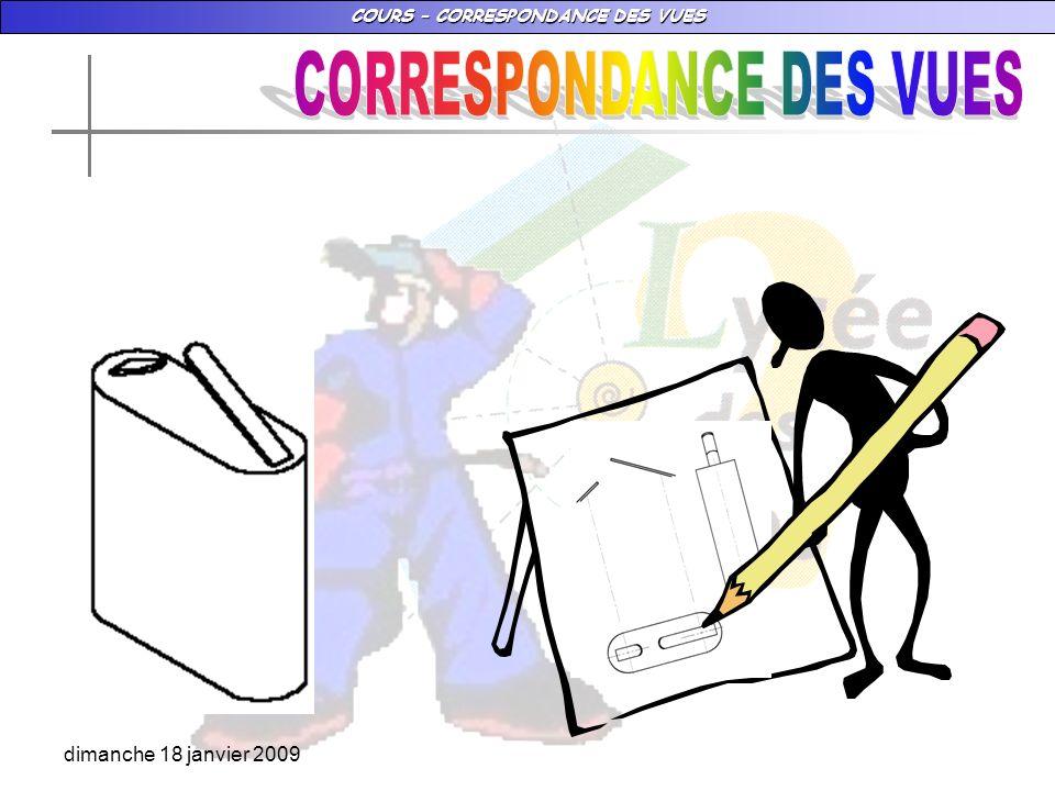 CORRESPONDANCE DES VUES