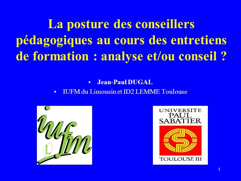 IUFM du Limousin et ID2 LEMME Toulouse