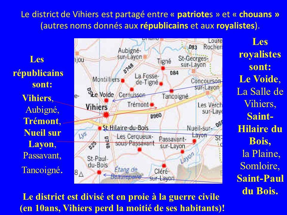 La Salle de Vihiers, Saint-Hilaire du Bois,