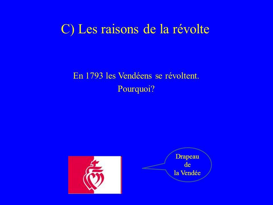 C) Les raisons de la révolte