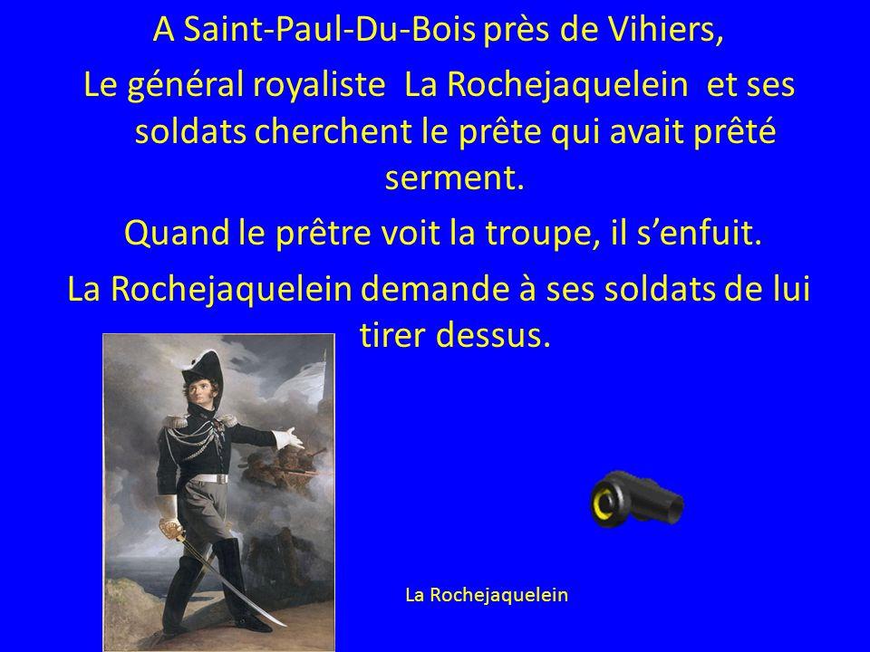 A Saint-Paul-Du-Bois près de Vihiers,