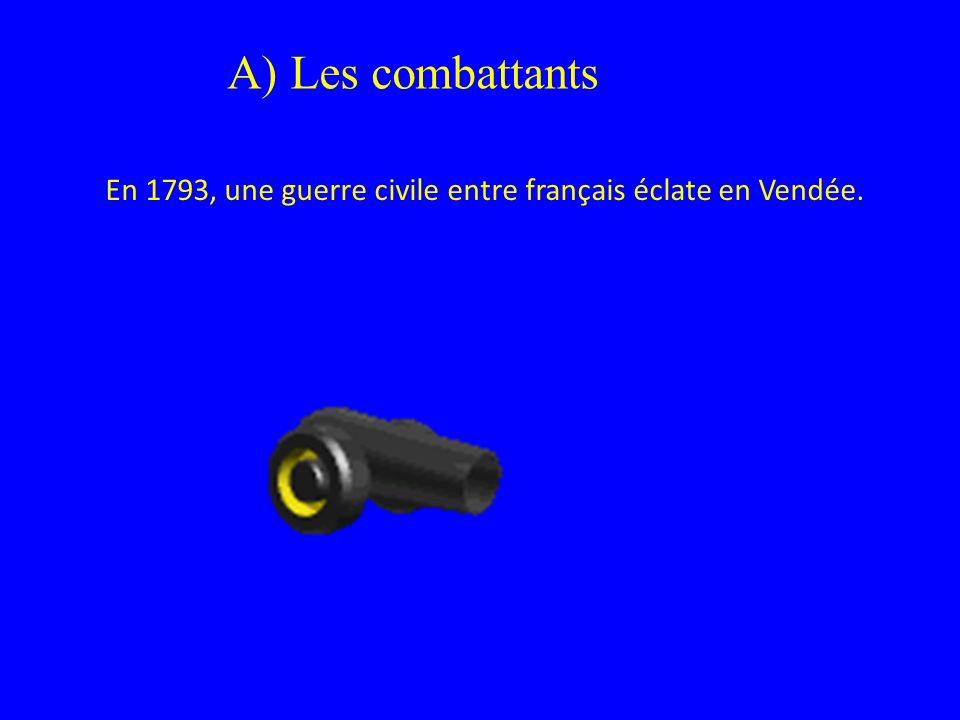 En 1793, une guerre civile entre français éclate en Vendée.