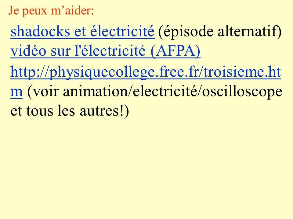 shadocks et électricité (épisode alternatif)