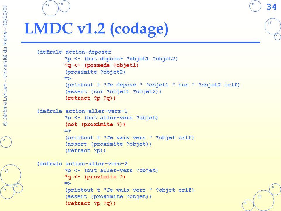LMDC v1.2 (codage) (defrule action-deposer