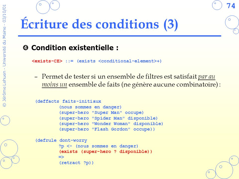 Écriture des conditions (3)