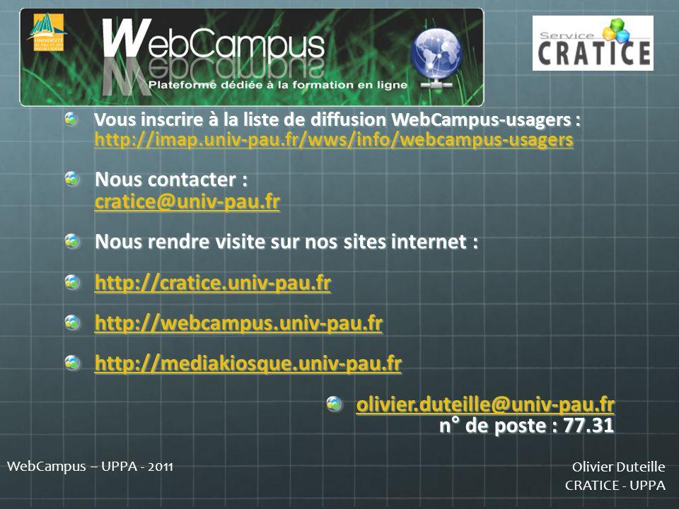 Nous contacter : cratice@univ-pau.fr