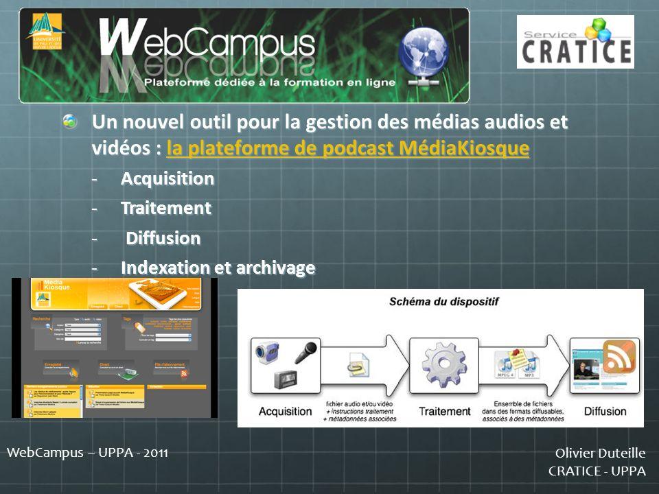 Un nouvel outil pour la gestion des médias audios et vidéos : la plateforme de podcast MédiaKiosque