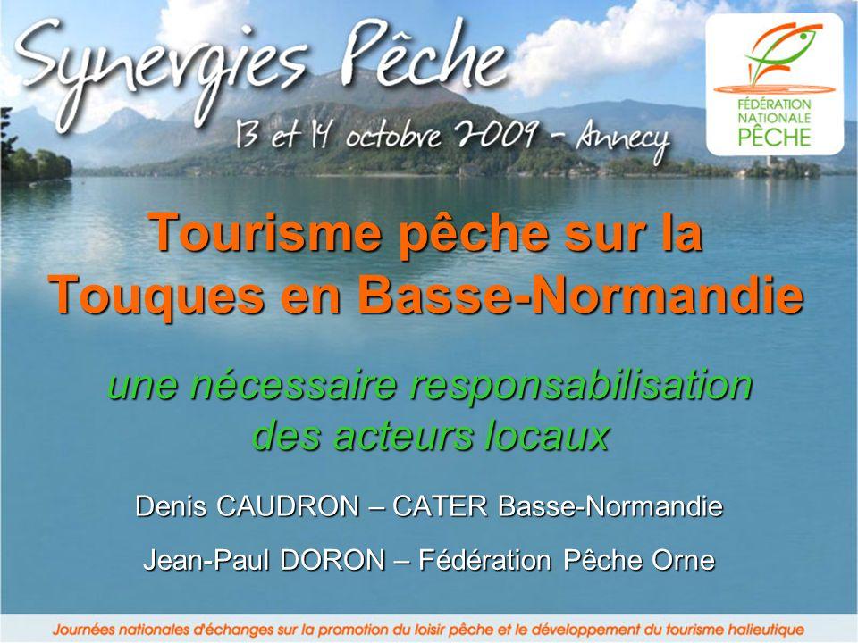 Tourisme pêche sur la Touques en Basse-Normandie