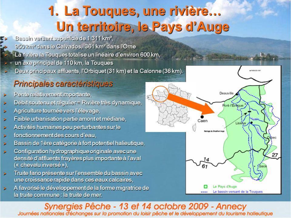 La Touques, une rivière… Un territoire, le Pays d'Auge
