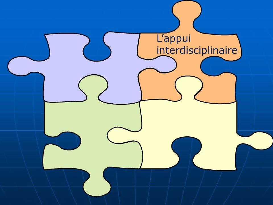 L'appui interdisciplinaire