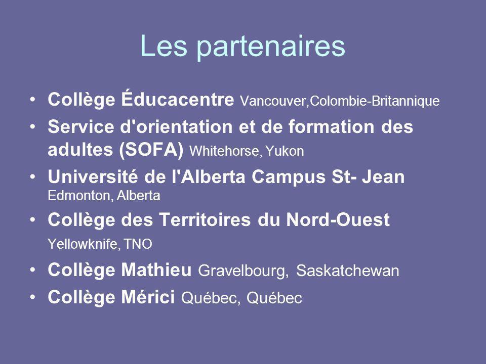 Les partenaires Collège Éducacentre Vancouver,Colombie-Britannique