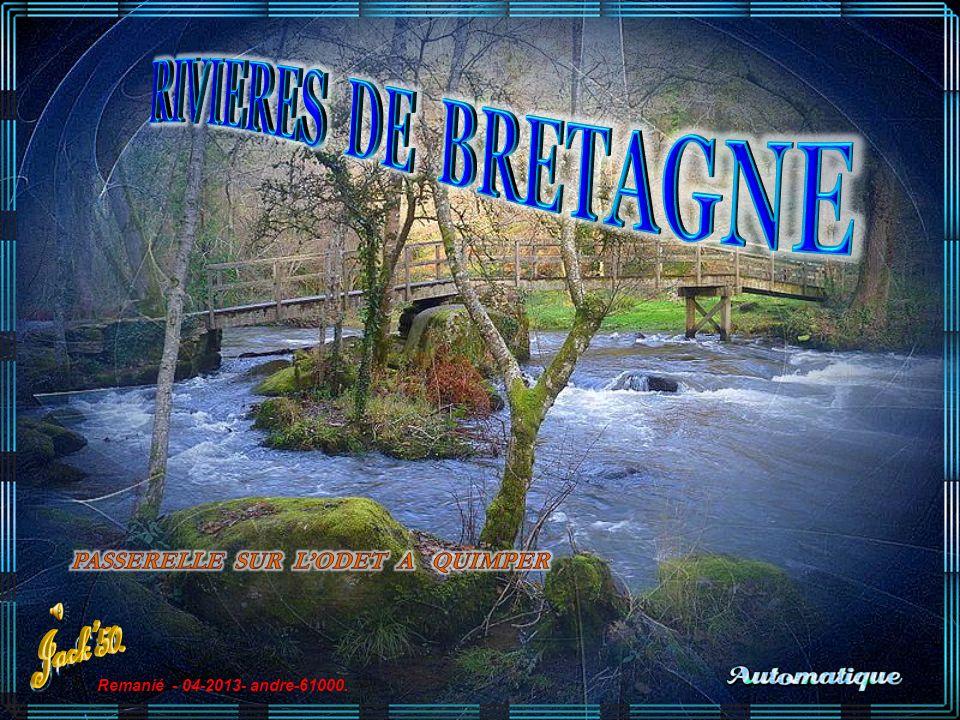 RIVIERES DE BRETAGNE Jack'50. PASSERELLE SUR L'ODET A QUIMPER