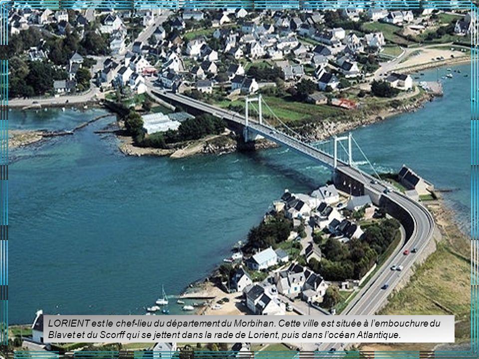 LORIENT est le chef-lieu du département du Morbihan