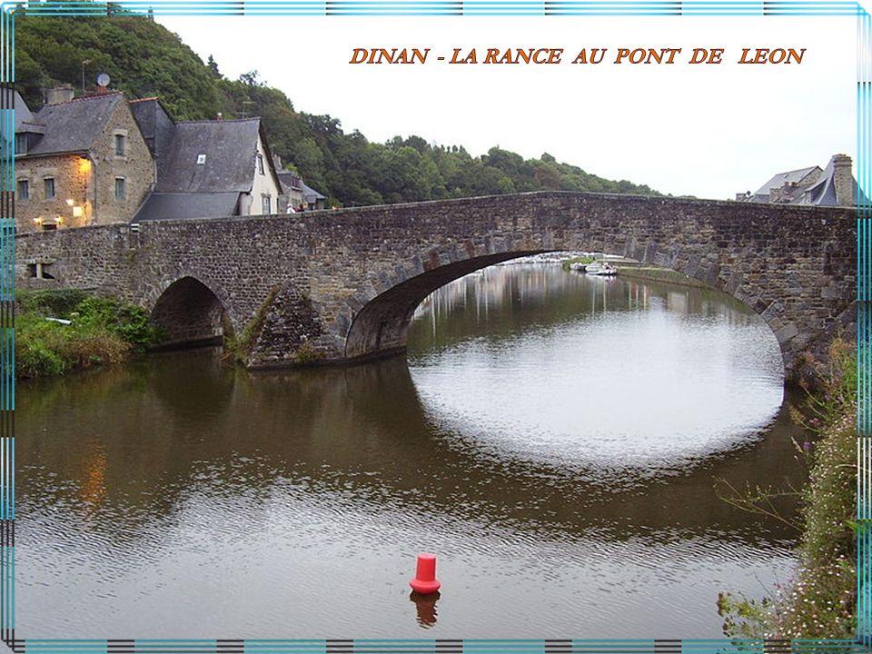 DINAN - LA RANCE AU PONT DE LEON