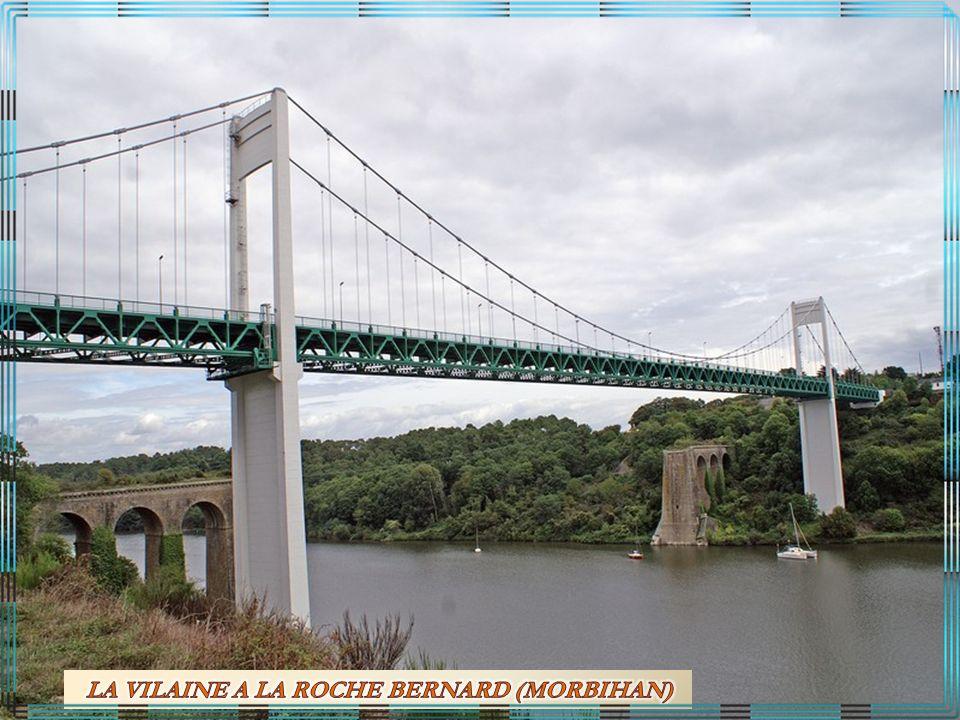 LA VILAINE A LA ROCHE BERNARD (MORBIHAN)