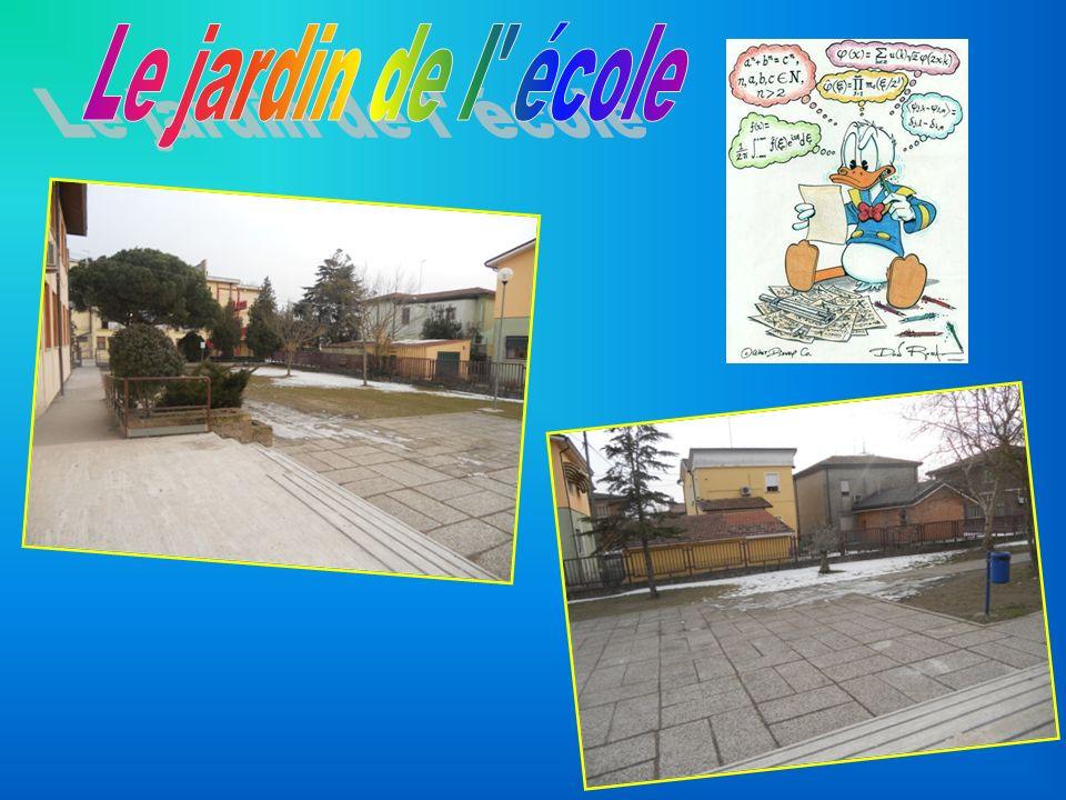 Le jardin de l école