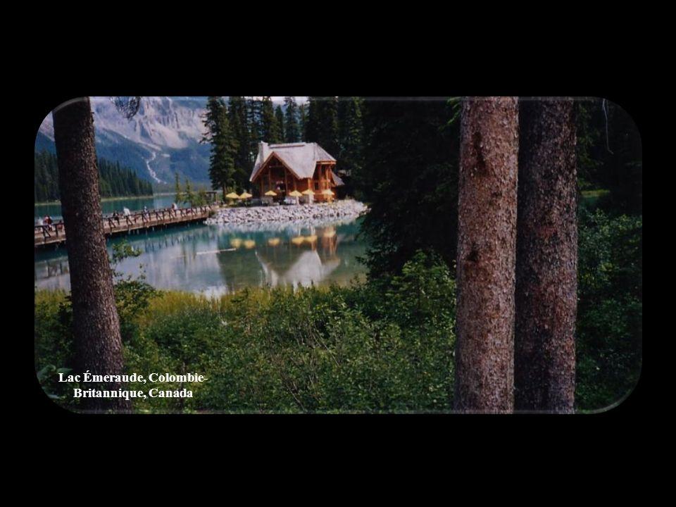 Lac Émeraude, Colombie-Britannique, Canada
