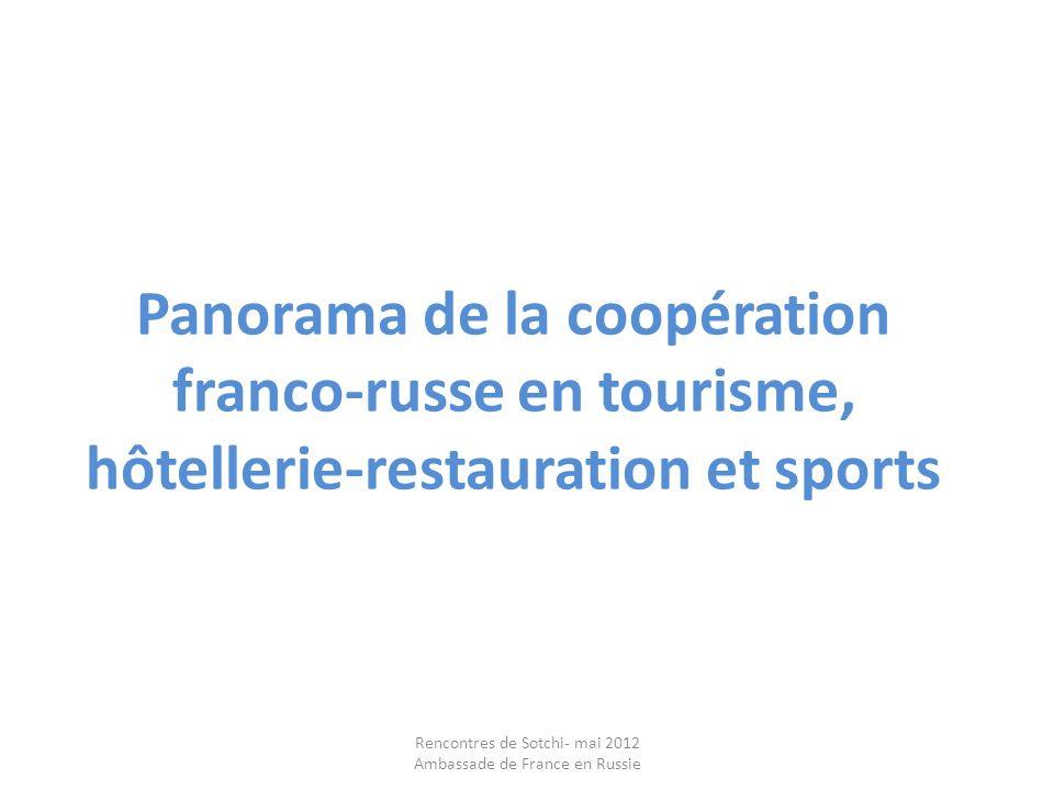 Rencontres de Sotchi- mai 2012 Ambassade de France en Russie