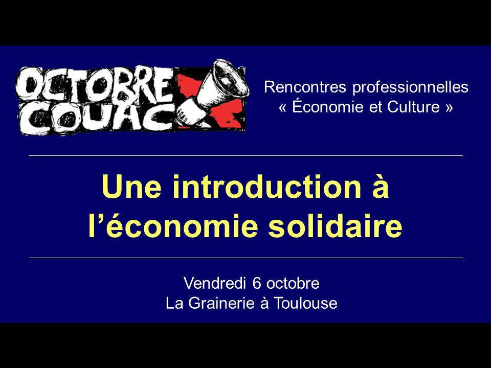 Rencontres professionnelles « Économie et Culture »