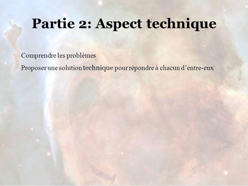 Partie 2: Aspect technique