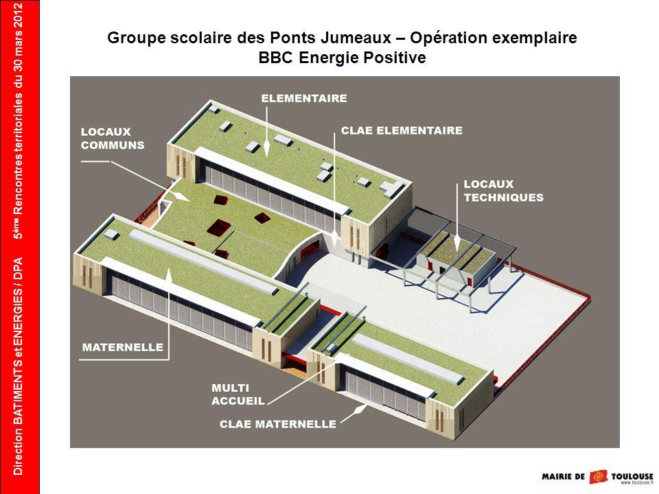 Groupe scolaire des Ponts Jumeaux – Opération exemplaire BBC Energie Positive