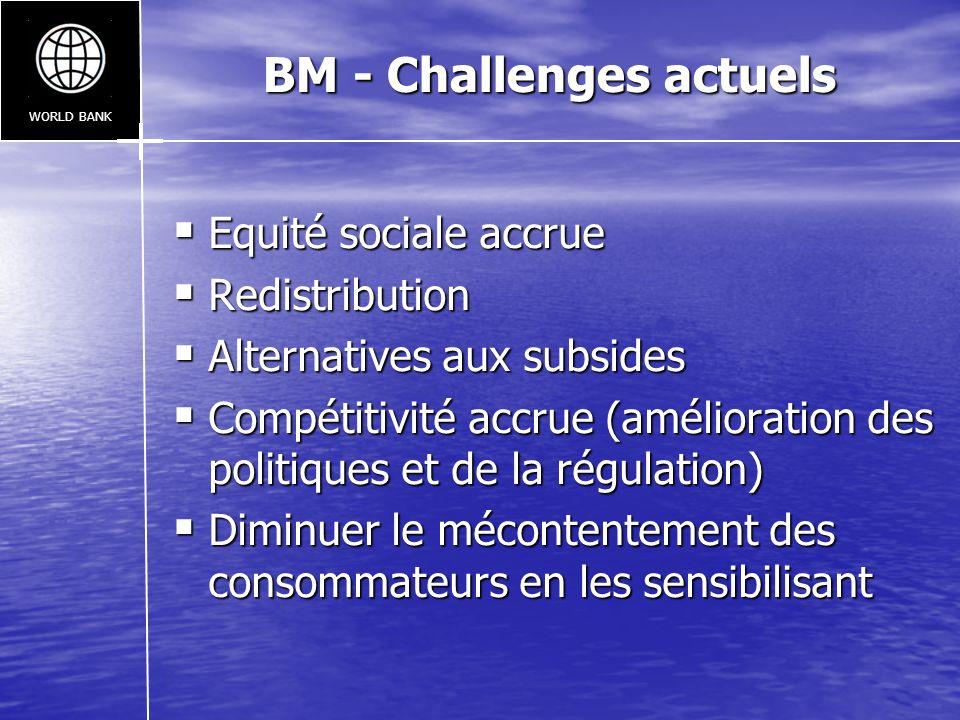BM - Challenges actuels