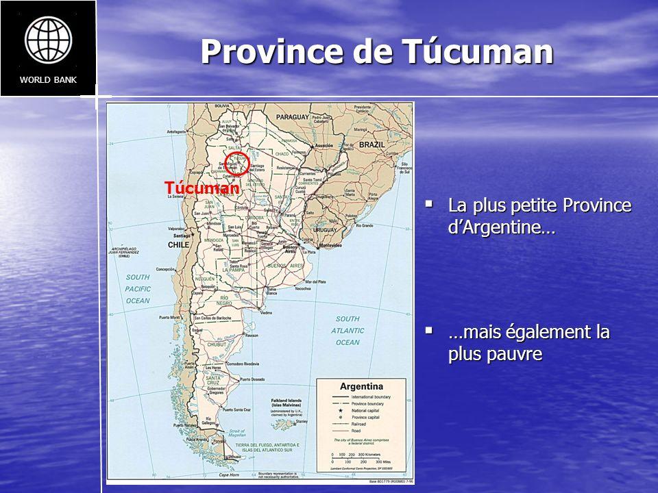Province de Túcuman La plus petite Province d'Argentine…