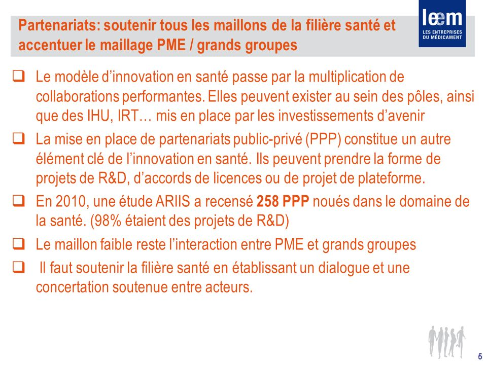 Le maillon faible reste l'interaction entre PME et grands groupes