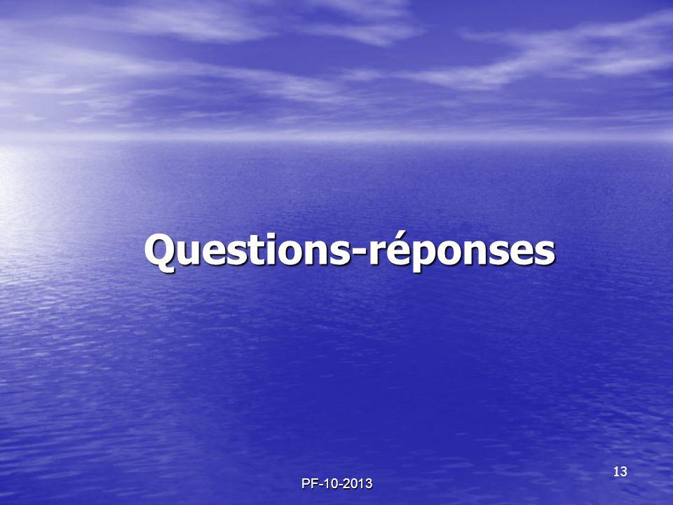 Questions-réponses PF-10-2013 13