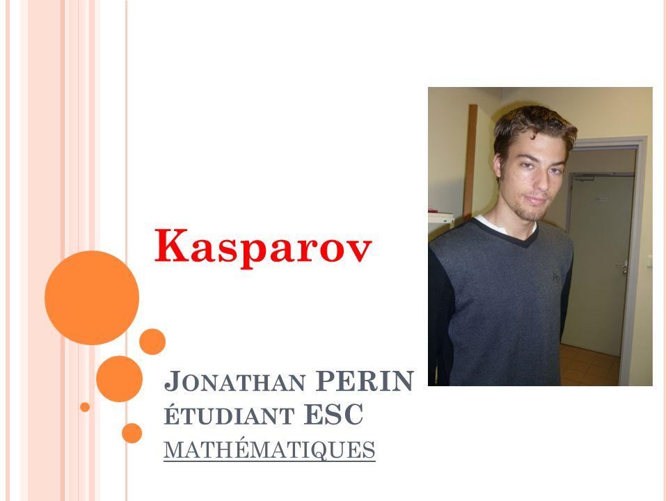 Jonathan PERIN étudiant ESC mathématiques