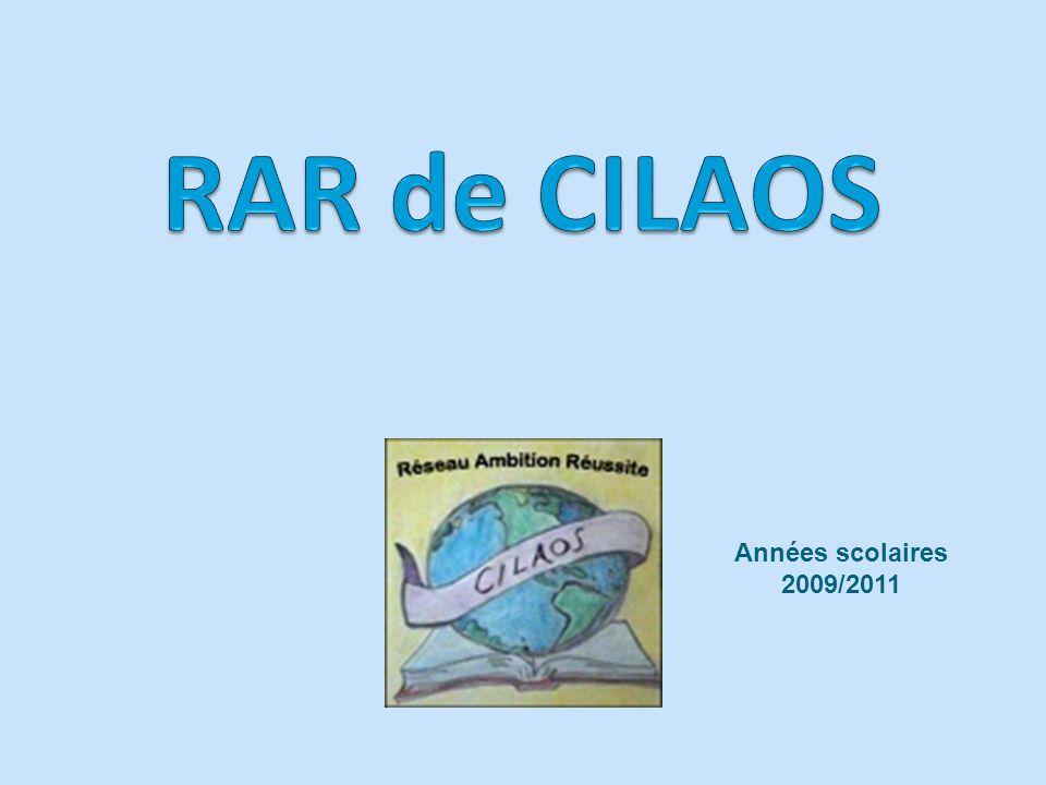 RAR de CILAOS Années scolaires 2009/2011