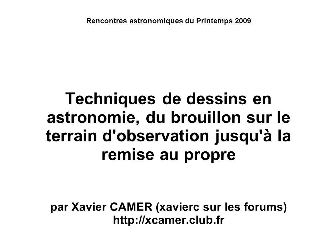 Rencontres astronomiques du Printemps 2009